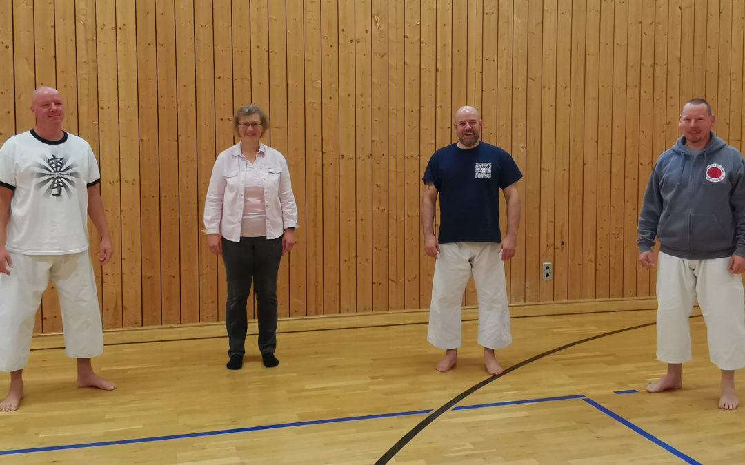 03. + 04. Okt. 2020 Karatelehrgang mit Iain Abernethy und Christian Wedewardt