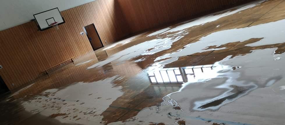 Hochwasser in der Swistbachaue